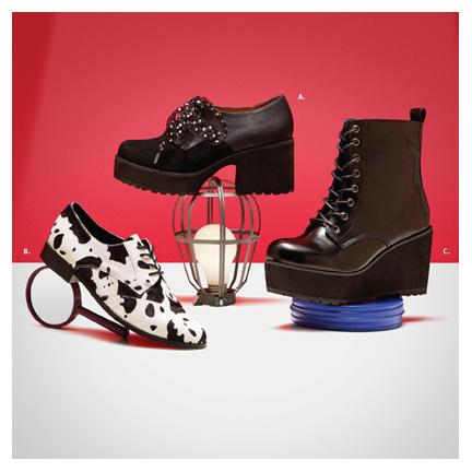 Little Burgundy – Shoe Feature